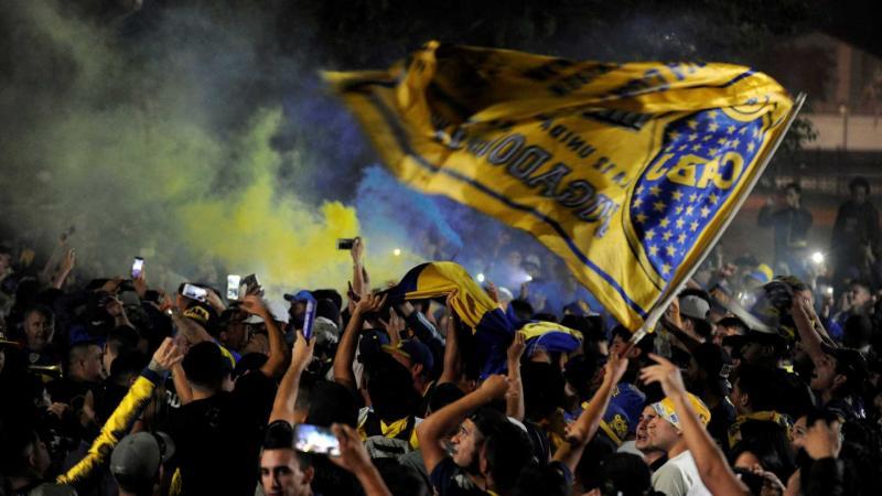 Delegação do Boca Juniors viaja para final da Libertadores em Madri