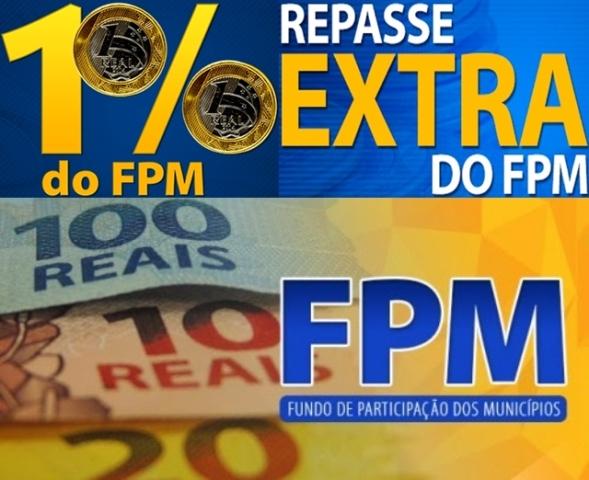 Mais de R$ 4,2 bilhões, do 1% do FPM de dezembro