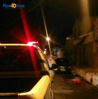 Homem é assassinado a tiros na cidade de Picos
