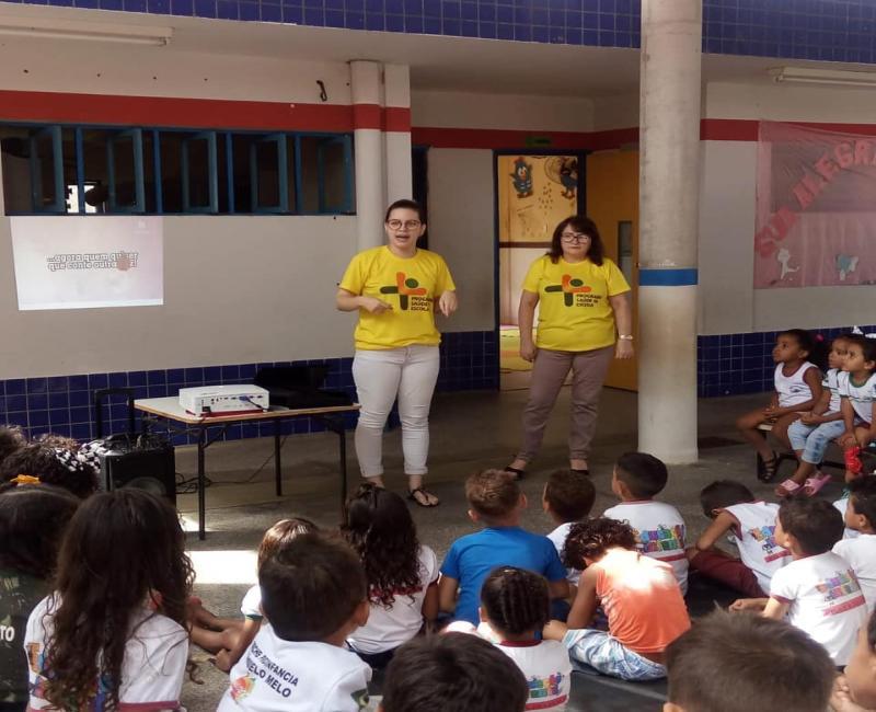 Programa Saúde na Escola realiza mais uma ação em Prata