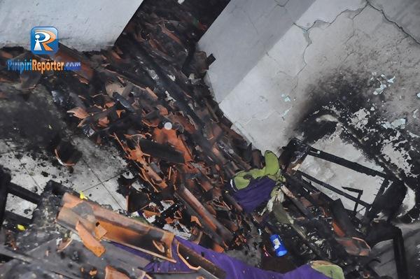 Família perde quase tudo após incêndio atingir residência no Piauí
