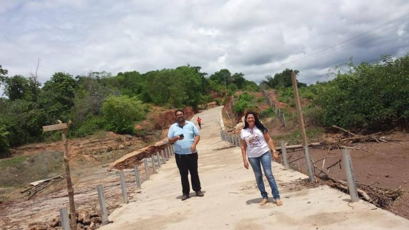 Secretaria de Educação de Amarante visita a comunidade Prata