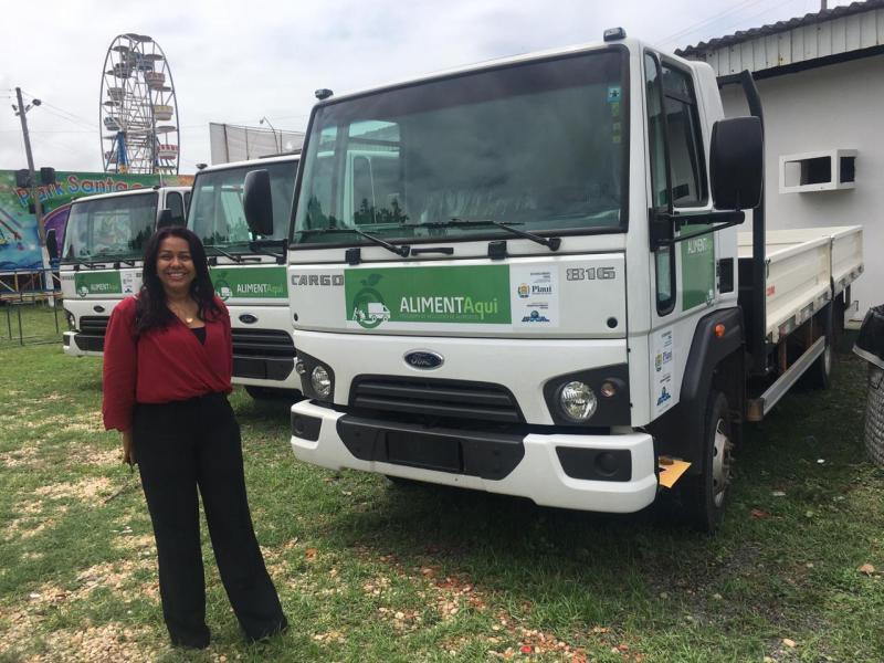 Prefeitura de Colônia recebe caminhão para a agricultura da cidade