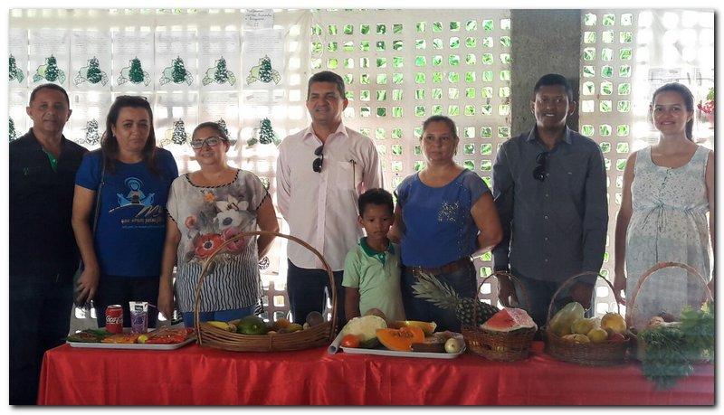 Escola Municipal João Amilton Ferreira desenvolve projeto sobre alimentação saudável