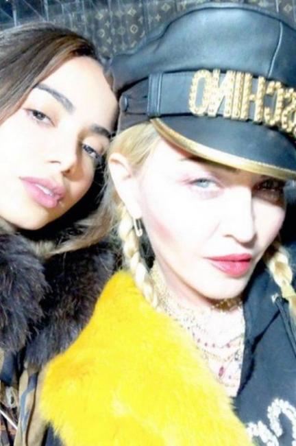 Anitta posta selfie com Madonna e diz: 'aprendizado para a vida inteira'
