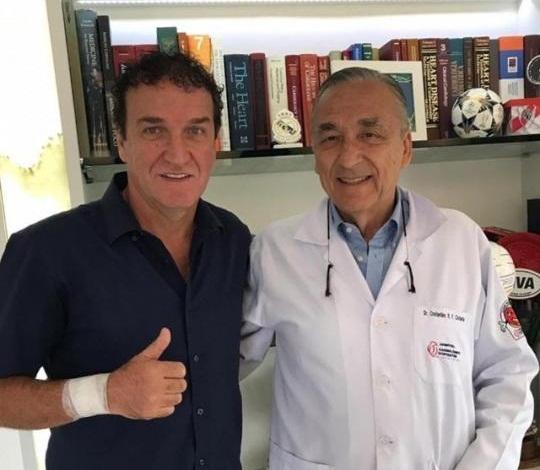 Técnico Cuca recebe alta após fazer cirurgia no coração