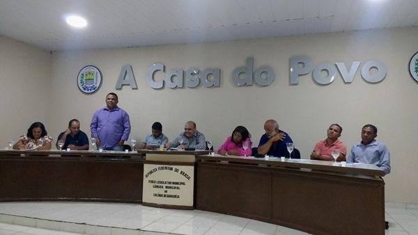 Elival Alves foi eleito presidente da Câmara de Colônia do Gurgueia-PI