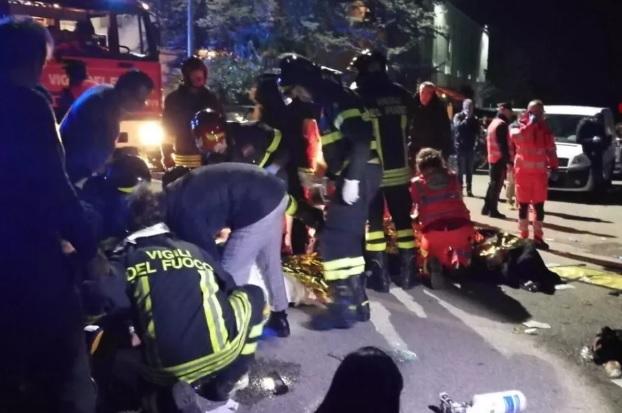 Confusão em show deixa 6 mortos e mais de 100 feridos na Itália