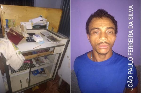 Suspeito de vários crimes é preso no interior do Piauí