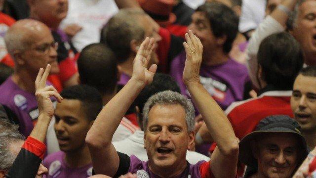 Rodolfo Landim é  eleito novo presidente do Flamengo