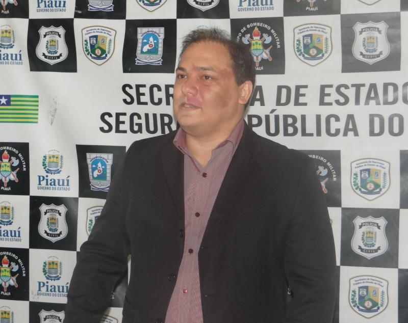 Luccy Keiko é apresentado como novo delegado geral do Piauí