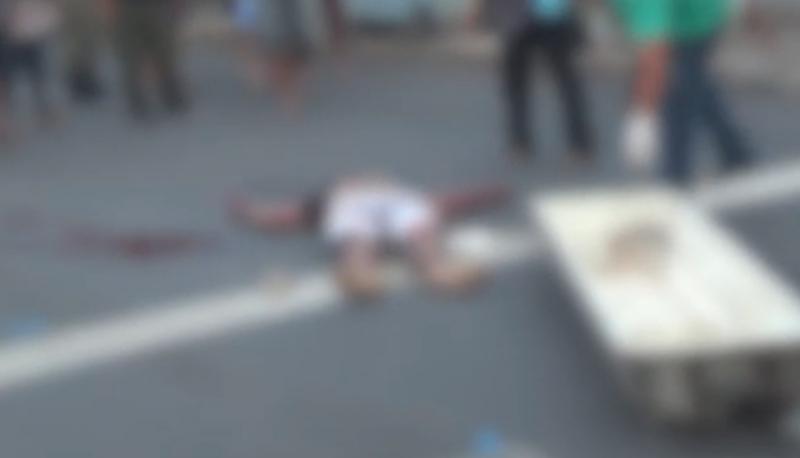 Garçom é perseguido e morto com cinco tiros em Teresina