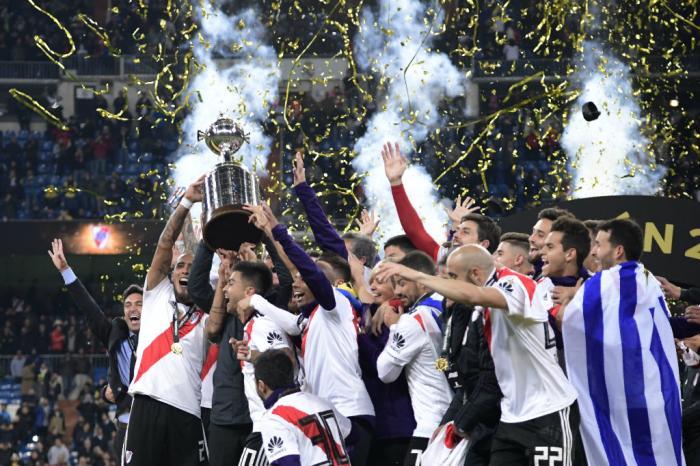 Com gols na prorrogação, River vence Boca e conquista a Libertadores