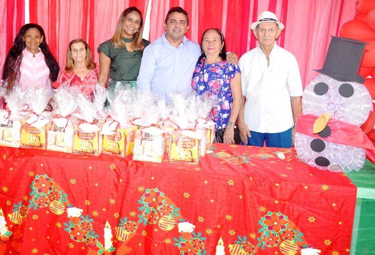Festa do idoso em Campo Maior com o Prefeito Professor Ribinha