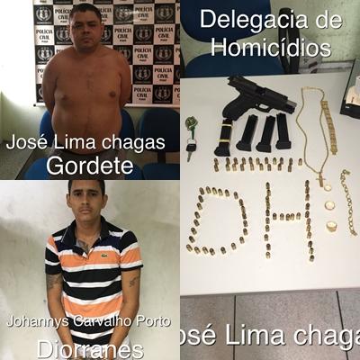 Acusados de homicídios são presos na zona sul de Teresina