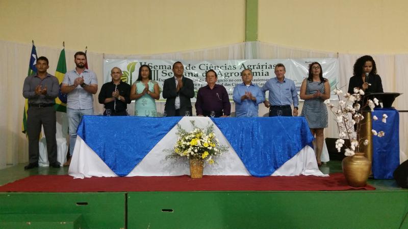 Iniciou em Uruçuí a V Semana de Ciências Agrárias e VIII  Semana de Agronomia