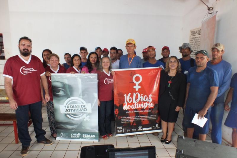 Prefeitura de Campo Maior intensifica ações contra a violência doméstica