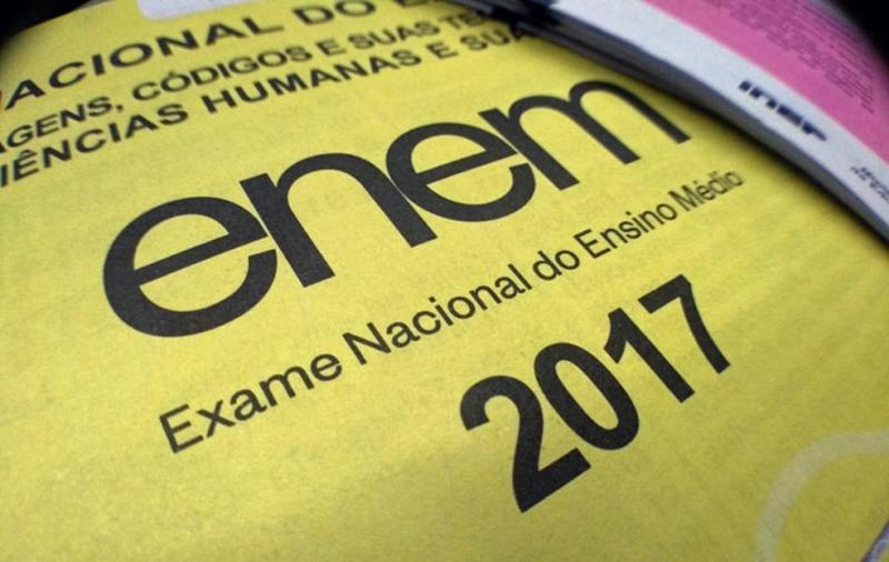 Inep divulga gabarito oficial do Enem 2017; confira