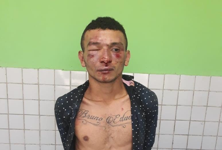 Jovem é preso após tentar praticar 'saidinha de banco' em Teresina