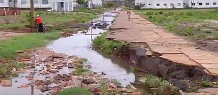 Defesa Civil remove famílias por conta das chuvas em Teresina