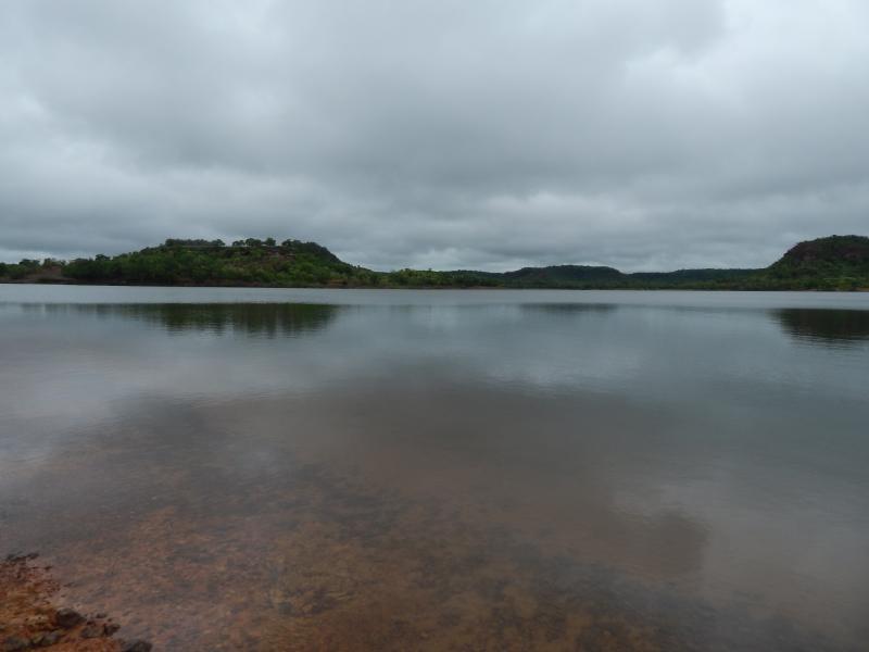 Com chuvas fortes na região Barragem Beneditinos aumenta sua capacidade