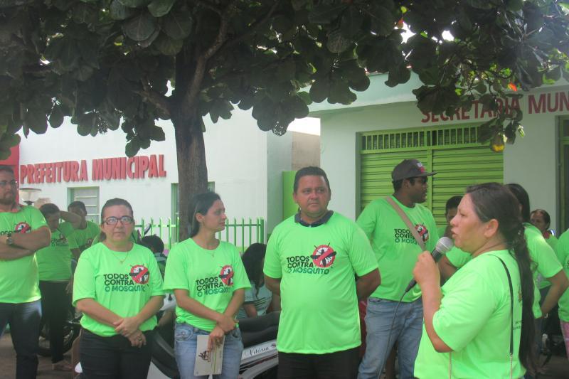 Campanha de combate ao Aedes Aegypti é realizada em São João do Arraial