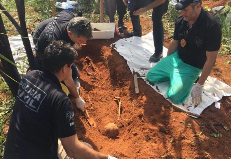 Ossada de mulher executada há dois anos pelo ex é encontrada
