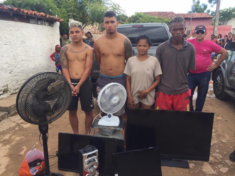 Operação prende quatro pessoas e faz apreensões em Teresina