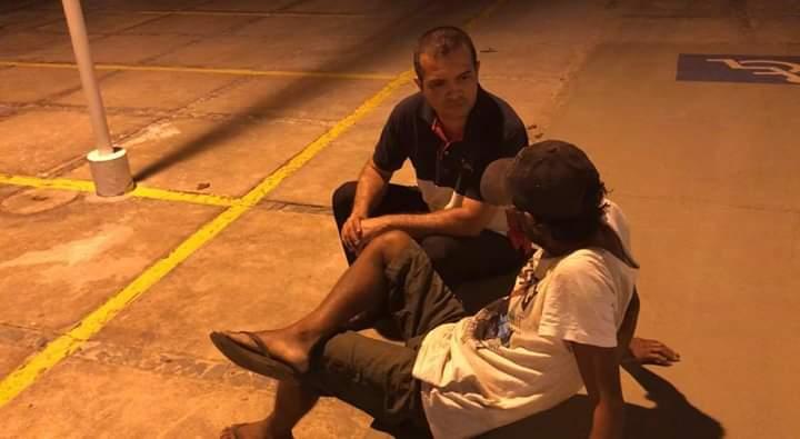 Ação social da Igreja Universal ajudar pessoas carentes em Valença