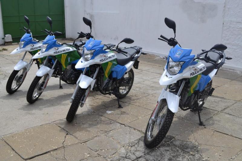 15º BPM de Campo Maior recebe quatro motocicletas