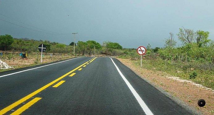 Governo conclui asfaltamento e sinalização da PI 309