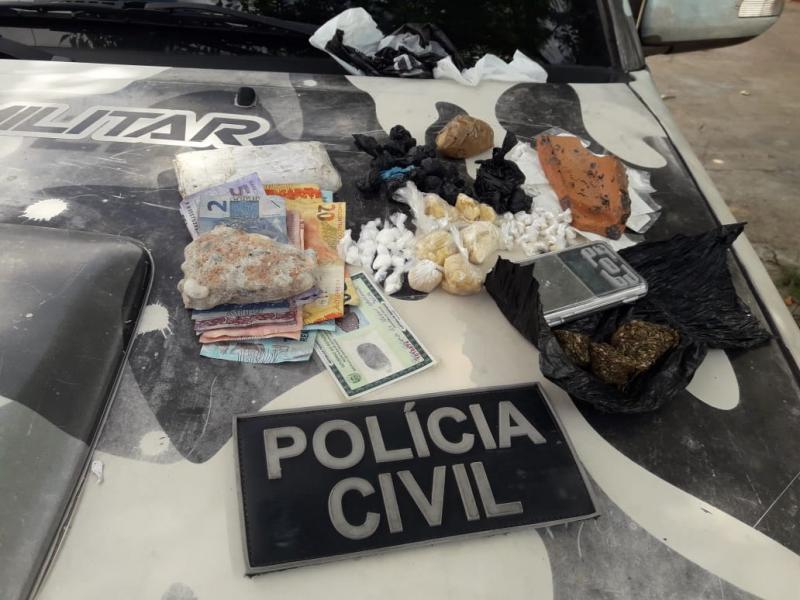 Força Tarefa apreende grande quantidade de cocaína em Teresina
