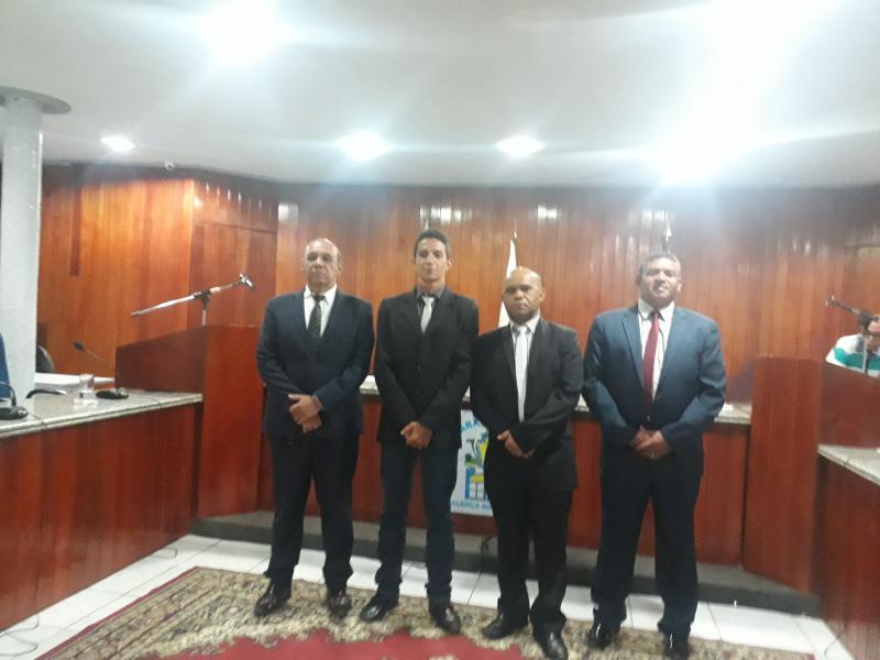 Nonatin Soares é  releitor  presidente da Câmara Municipal de Valença