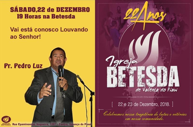 Igreja Betesda Celebra seu  22º aniversário