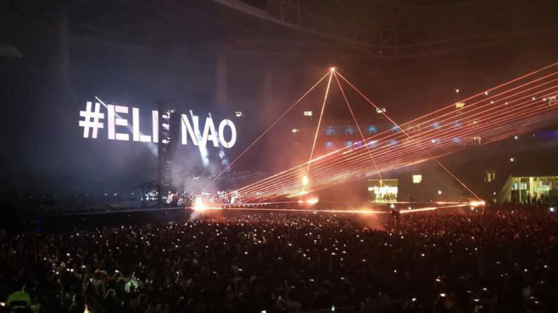TSE arquiva ação de Bolsonaro contra Haddad por show de Roger Waters