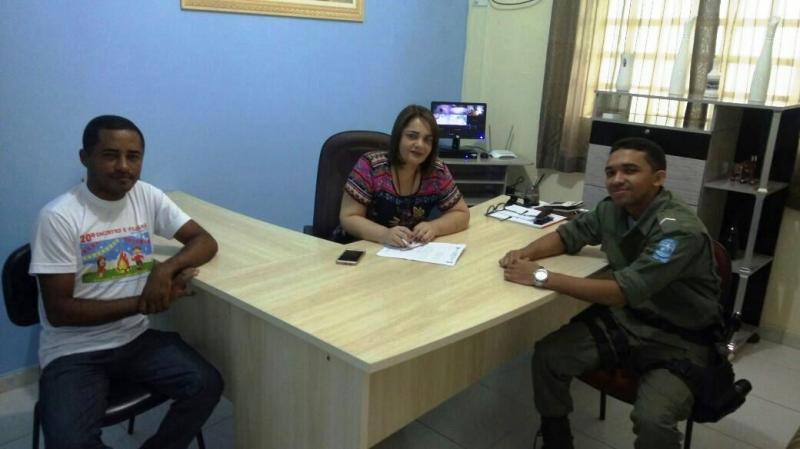 Prefeitura de Santa Filomena cumpre Termo de Cooperação Mútua do PROERD