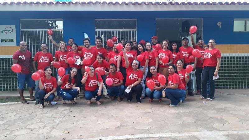 Secretaria de Saúde de Landri Sales realiza a campanha Dezembro Vermelho