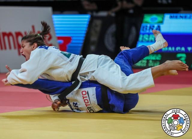 Sarah Menezes vence seletiva da seleção brasileira de judô