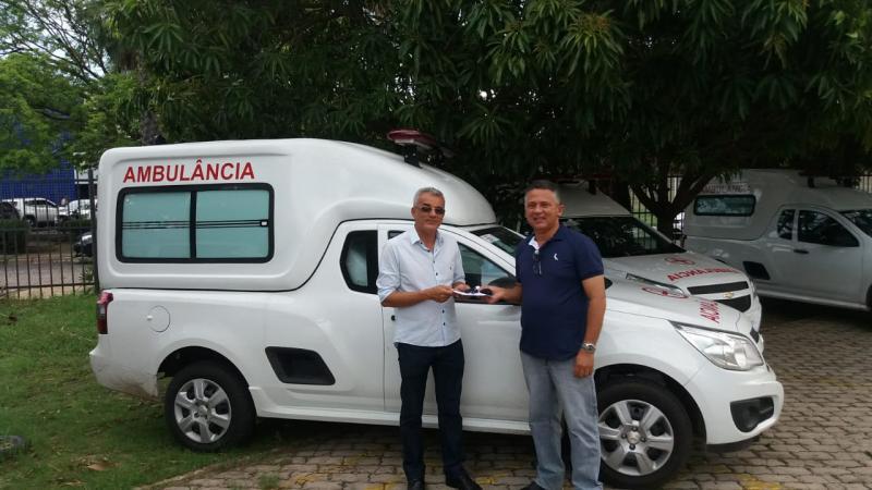 São Gonçalo do Gurguéia foi contemplada com ambulância nova