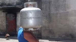 Vagabundos estão roubando botijões de gás