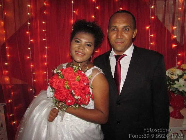 Filho de vereador casou-se no último fim de semana