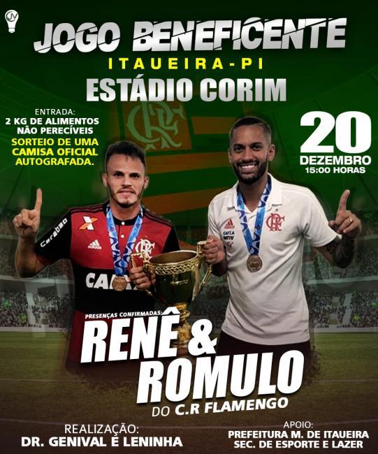 Dr Genival e Leninha estão trazendo Renê e Romulo do Flamengo