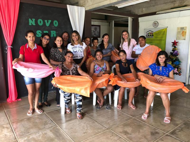 Prefeitura entrega kits e enxovais para gestantes em Campo Maior