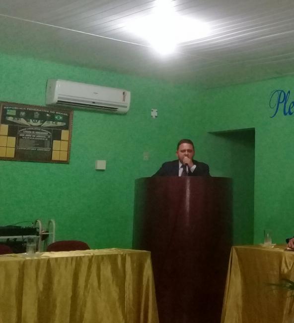 Jurandir Pontes é reeleito presidente da Câmara em São João do Arraial