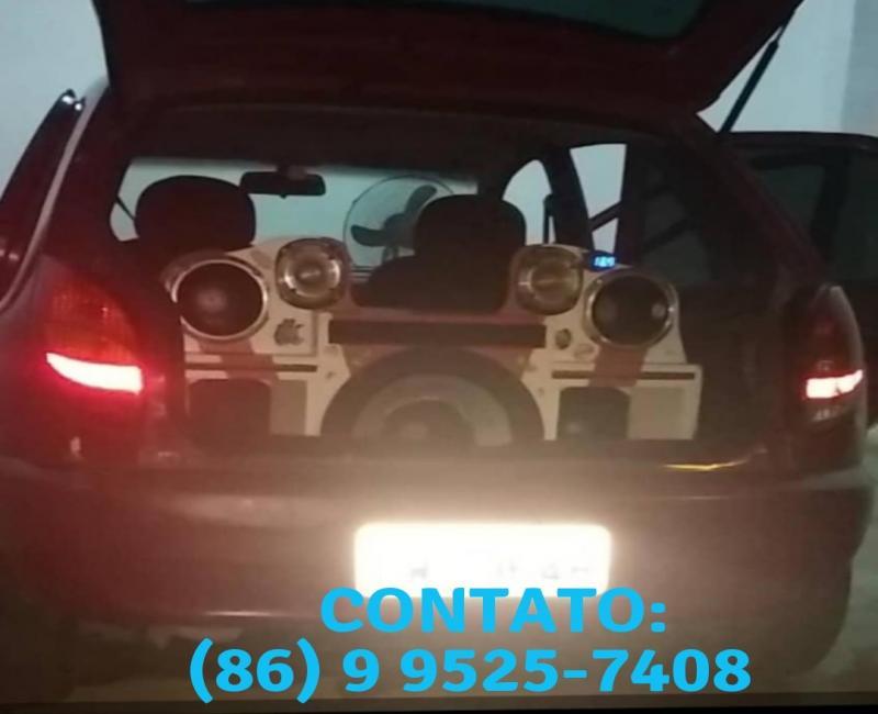 São Gonçalense tem som do carro roubado em festa na Lagoinha do Piauí