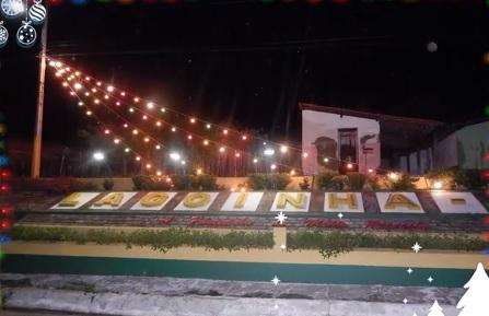 Decoração natalina de Lagoinha do Piauí foi destaque na TV Globo