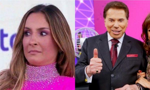 Silvio Santos fala pela primeira vez sobre polêmica com Cláudia Leite