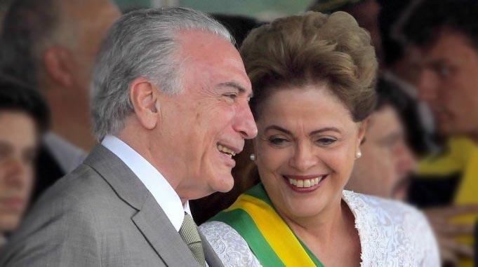 Tenho a impressão de que é correta e honesta, diz Temer sobre Dilma