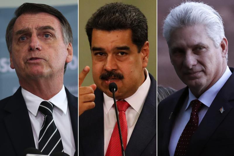 Itamaraty: Convidou e desconvidou Cuba e Venezuela para posse de Bolsonaro