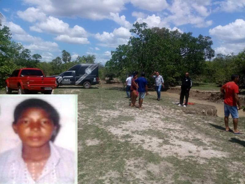 Corpo de mulher é encontrado boiando em riacho de Cabeceiras